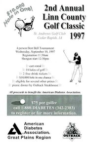 Linn County Golf Classic poster