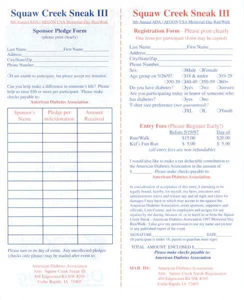 Squaw Creek Sneak brochure inside 3