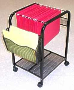Metal Fold 'N Roll Mesh Cart