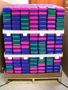40 inch school box pallet