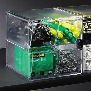 Shelf Savers 4-Drawer Cube