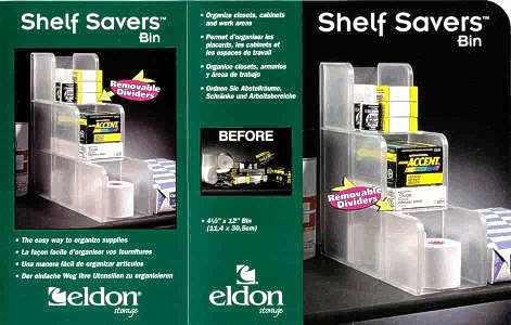 Shelf Savers Bin packaging
