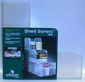 Shelf Savers Bin packaging prototype