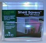 Shelf Savers Cube w/ Drawer packaging prototype