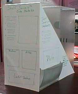 Shelf Savers Starter Kit initial packaging concept
