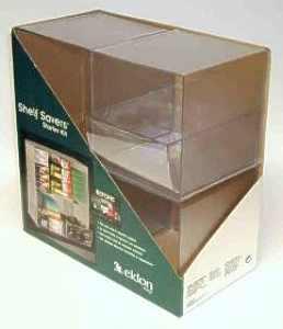 Shelf Savers Starter Kit packaging, prototype