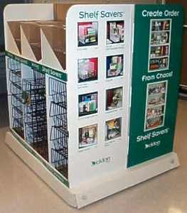 Shelf Savers pallet, prototype