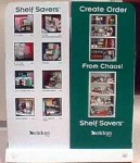 Shelf Savers pallet, display side