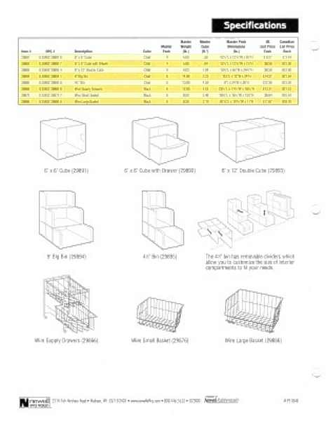 Original Shelf Savers Sell Sheet, spec and pricing