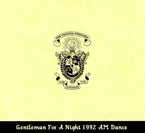 Associate Member dance invite, cover