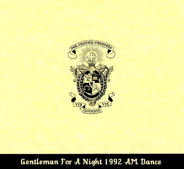 Associate Member dance invite, cover