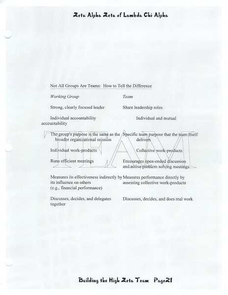 High Zeta training manual, page 20