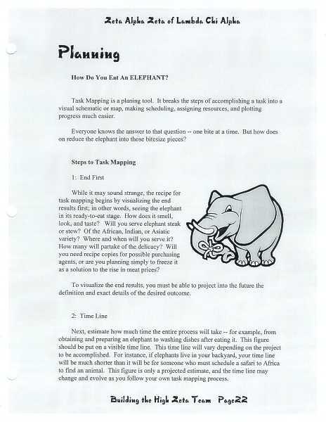 High Zeta training manual, page 21