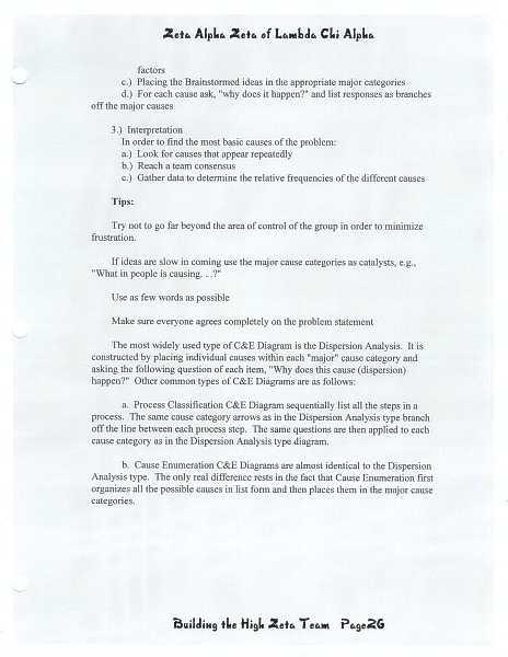 High Zeta training manual, page 25