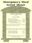 Montgomery Ward Grand Manor program