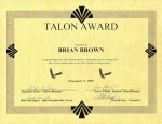 LHF Talon Award for Home Depot