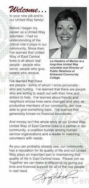 UW-ECI Invest in Your Future brochure, back cover