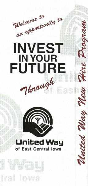 UW-ECI Invest in Your Future brochure, cover