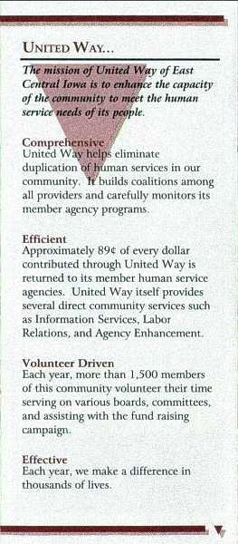 UW-ECI Payroll Deduction brochure, inside 4
