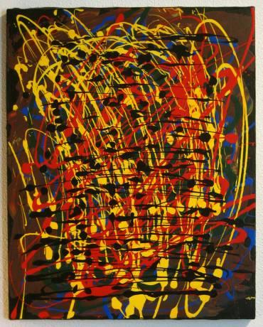 Painting: Primary Disarray