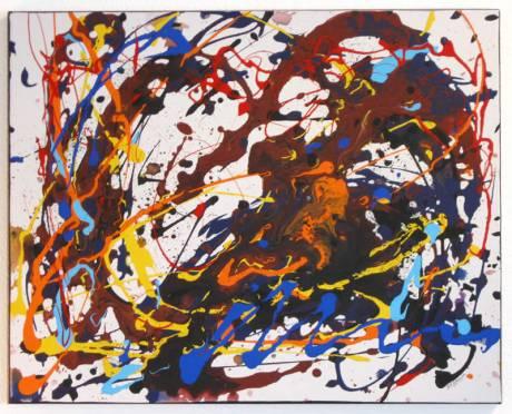 Painting: Orange Serenade