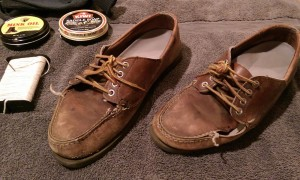 Begin the Blucher Repair